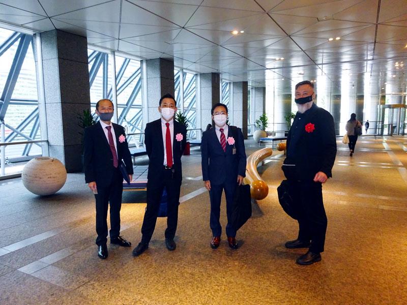主幹事証券会社(野村証券様)訪問